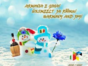 Un saluto dall'Associazione Italia Estonia per 2021