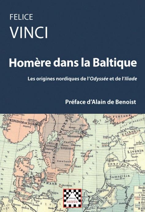 """""""Omero nel Baltico"""" di Felice Vinci é uscito in Francia, con la prefazione del grande intellettuale francese Alain de Benoist"""