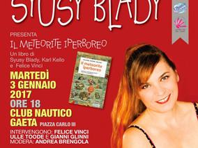 """Presentazione: """"Il meteorite iperboreo"""" di Syusy Blady, Karl Kello e Felice Vinci a Gaeta,"""