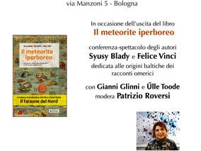 """""""Il meteorite iperboreo"""" a Bologna, 10 febbraio 2017"""