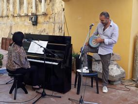 Siiri Sisask con  Marzouk Mejri, 22.09.2018, Ventotene