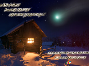Häid pühi! Buone Feste! Season Greetings!