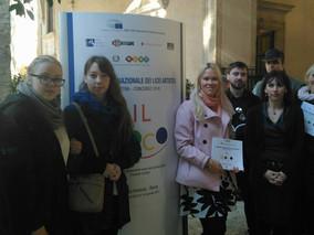 Tartu Kunstikool külalisena Itaalia esimesel Noorte Kunstibiennaalil