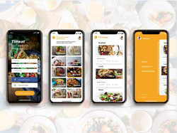 healthy creations _ meal plan UI inspo .