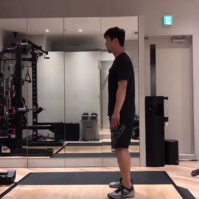「パフォーマンスアップ」動作トレーニング#2