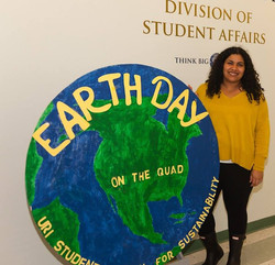 Today, I concluded my two year term as president of URI Student Action for Sustainability! It was an