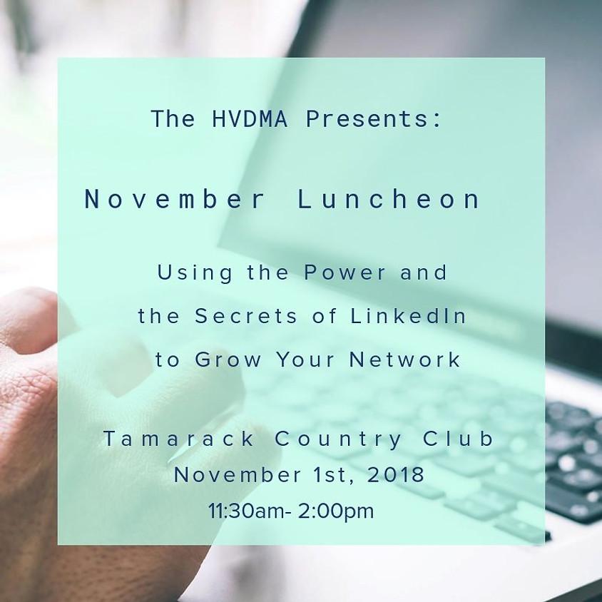 HVDMA November Luncheon
