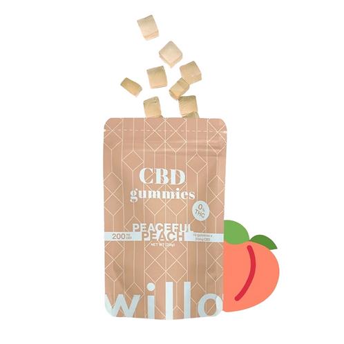 Peaceful Peach Gummies - Willo