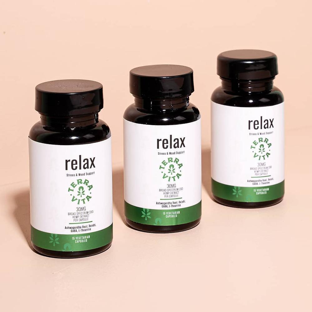 Terra Vita CBD - Relax CBD capsules