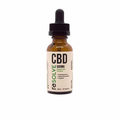 resolveCBD 500mg Full Spectrum CBD Oil