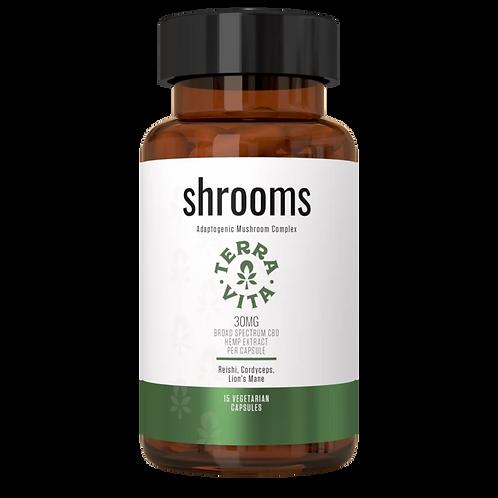 Shrooms Capsules / Broad Spectrum- TerraVita