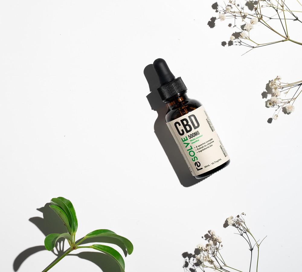 resolveCBD full spectrum, organic, CBD Oil