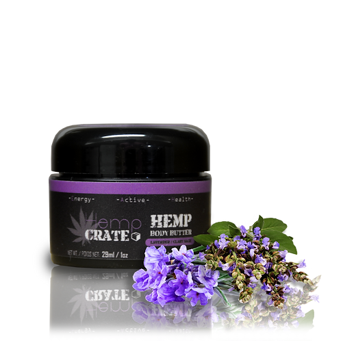 Lavender & Clary Sage Body Butter - HempCrate