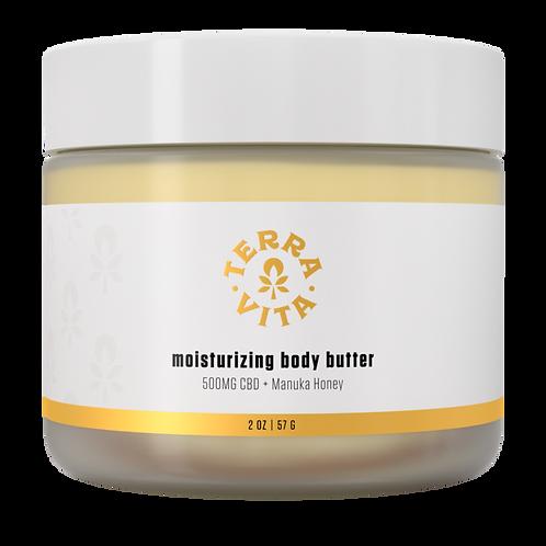 Moisturizing CBD Body Butter - TerraVita CBD