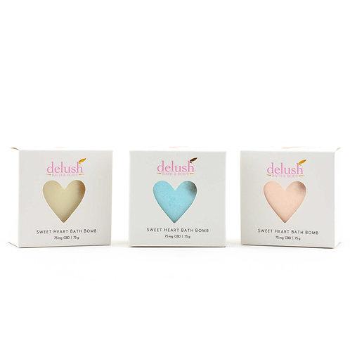 Sweet Heart Bath Bombs - Delush