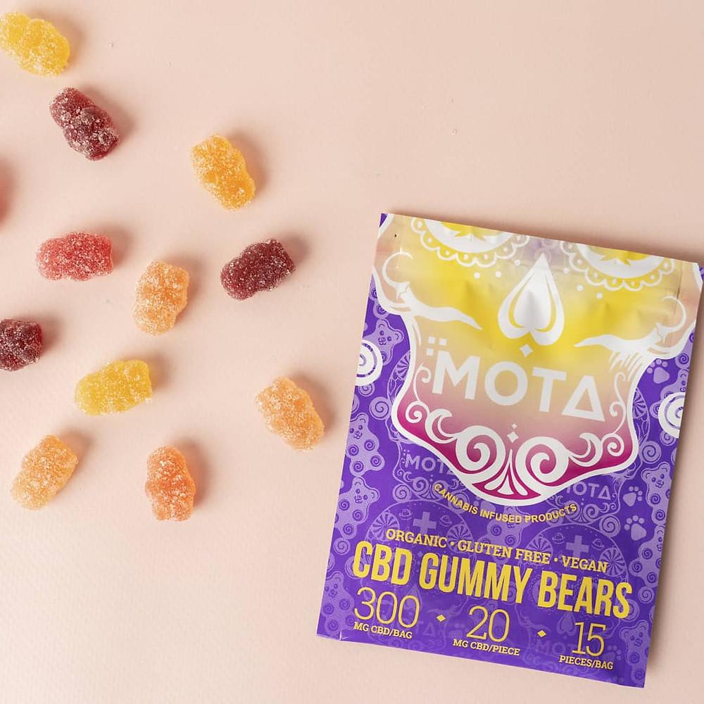 Vegan, organic CBD Gummies.