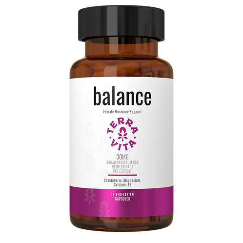 Balance Capsules / Broad Spectrum - TerraVita