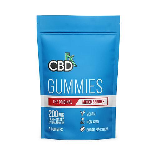 CBDfx Vegan Gummies 200mg ( 8ct ) - Broad Spectrum