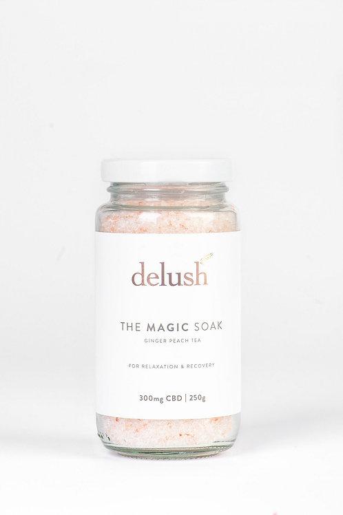 The Magic Soak 300mg - Delush