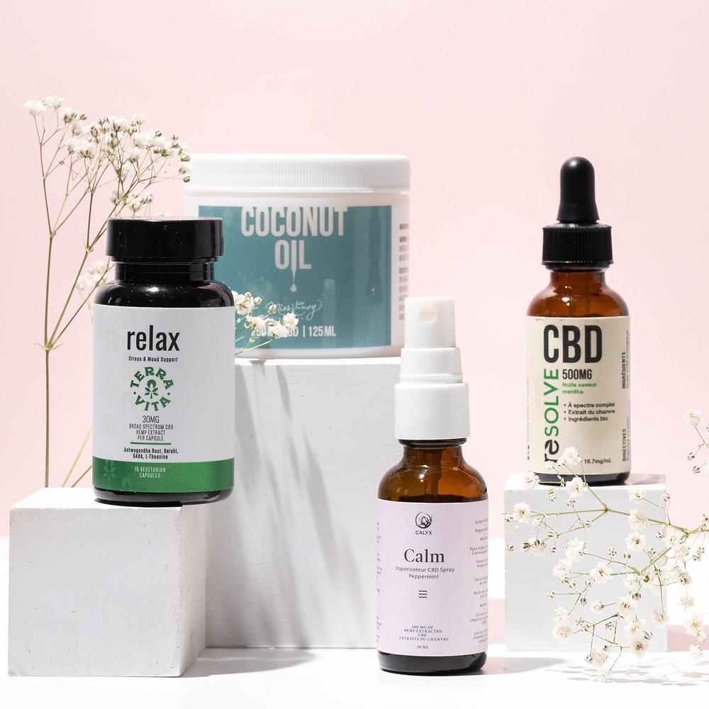 CBD Oil, CBD Capsules, CBD edibles. CBD Emporium Canada
