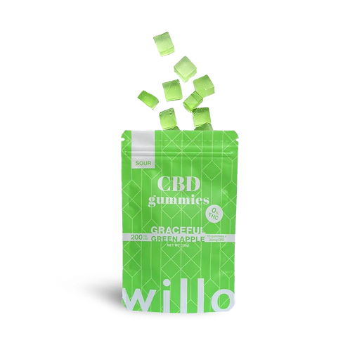 Graceful Green Apple Gummies - Willo