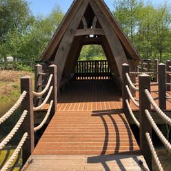 The drawbridge at Hilton Green