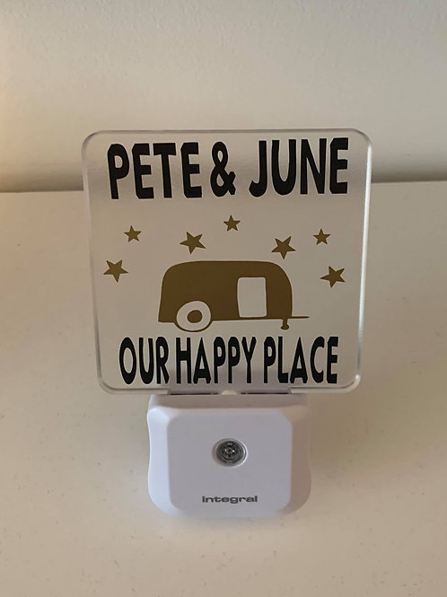 night light for motorhome or caravan