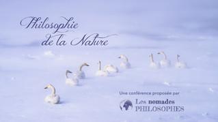 Conférence : Philosophie de la Nature