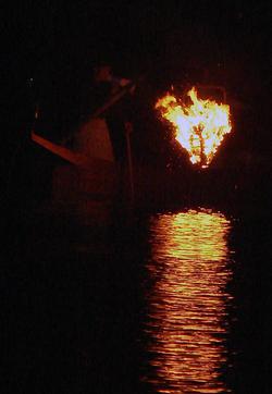 Pesca com Cormorão - Ukai 鵜飼