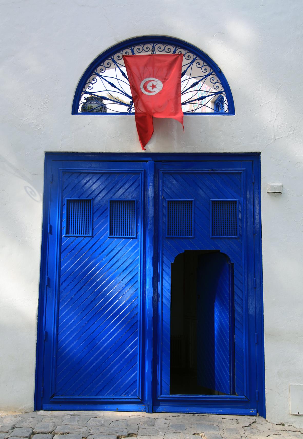 Tunísia Branca e Azul - سيدي بو سعيد