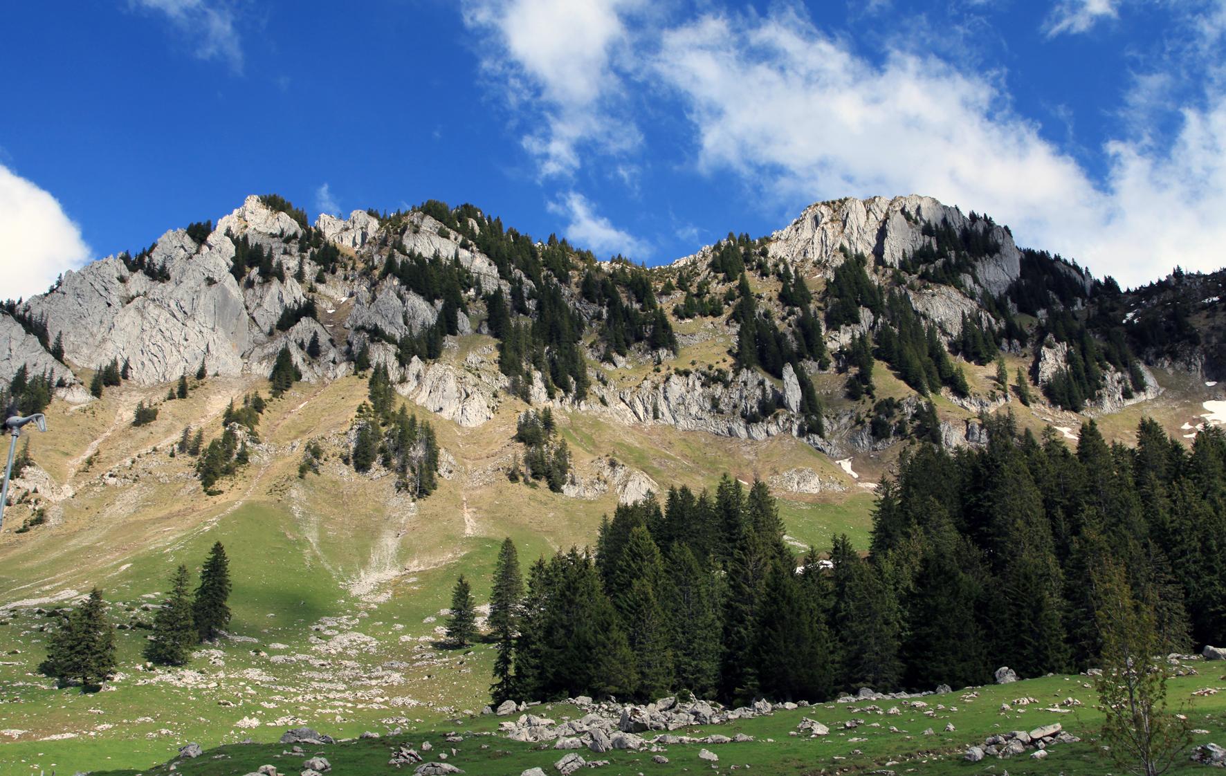 Pré-Alpes em Fribourg