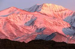 Amanhecer nos Andes