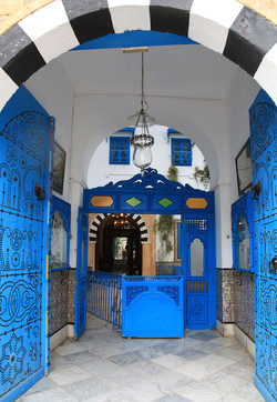 Azul e Branco -  سيدي بو سعيد