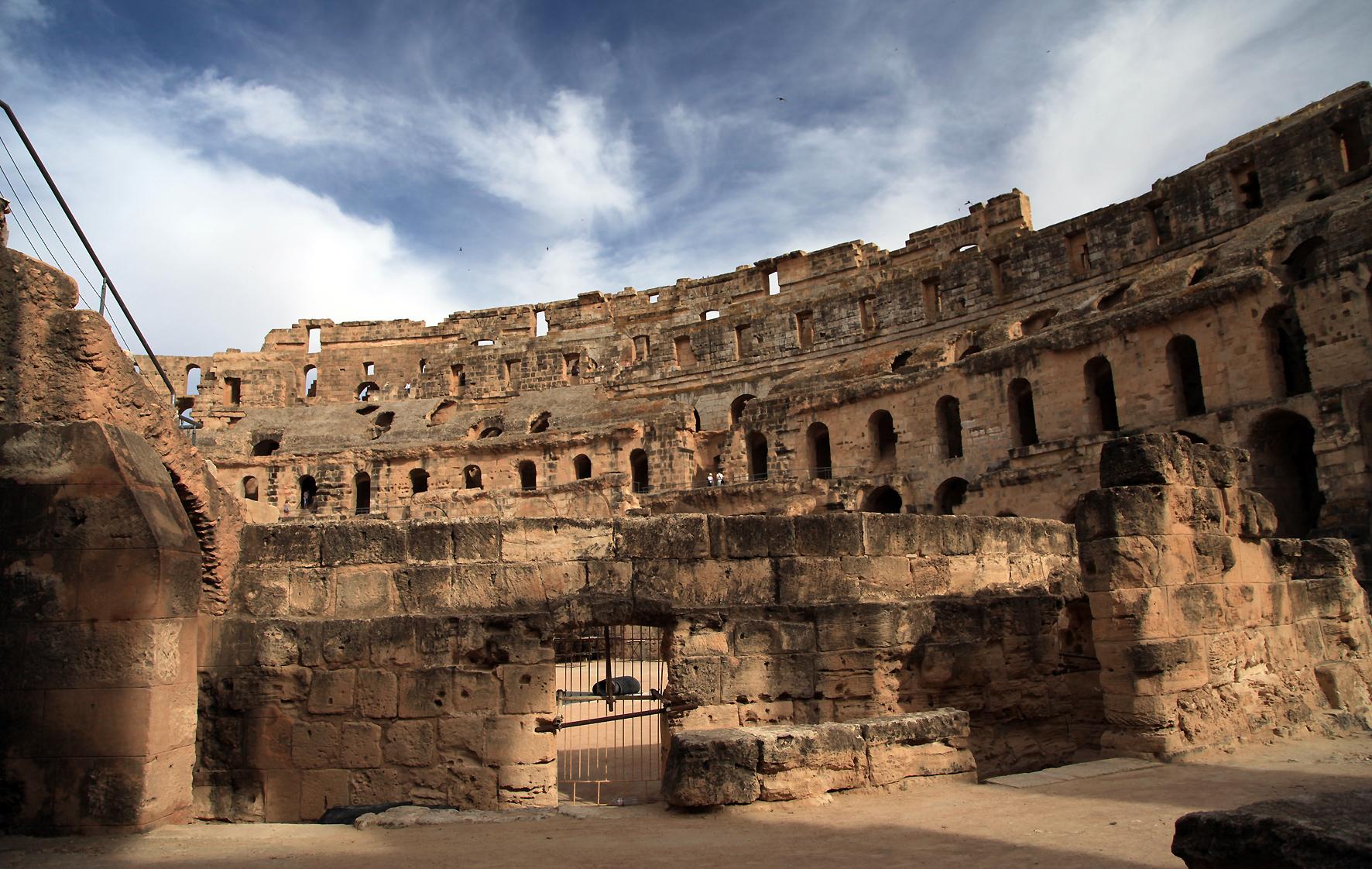 Thysdrus - El Jem - قصر الجمّ