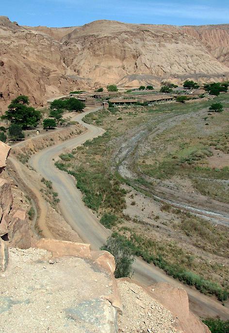 Vista do Pukará