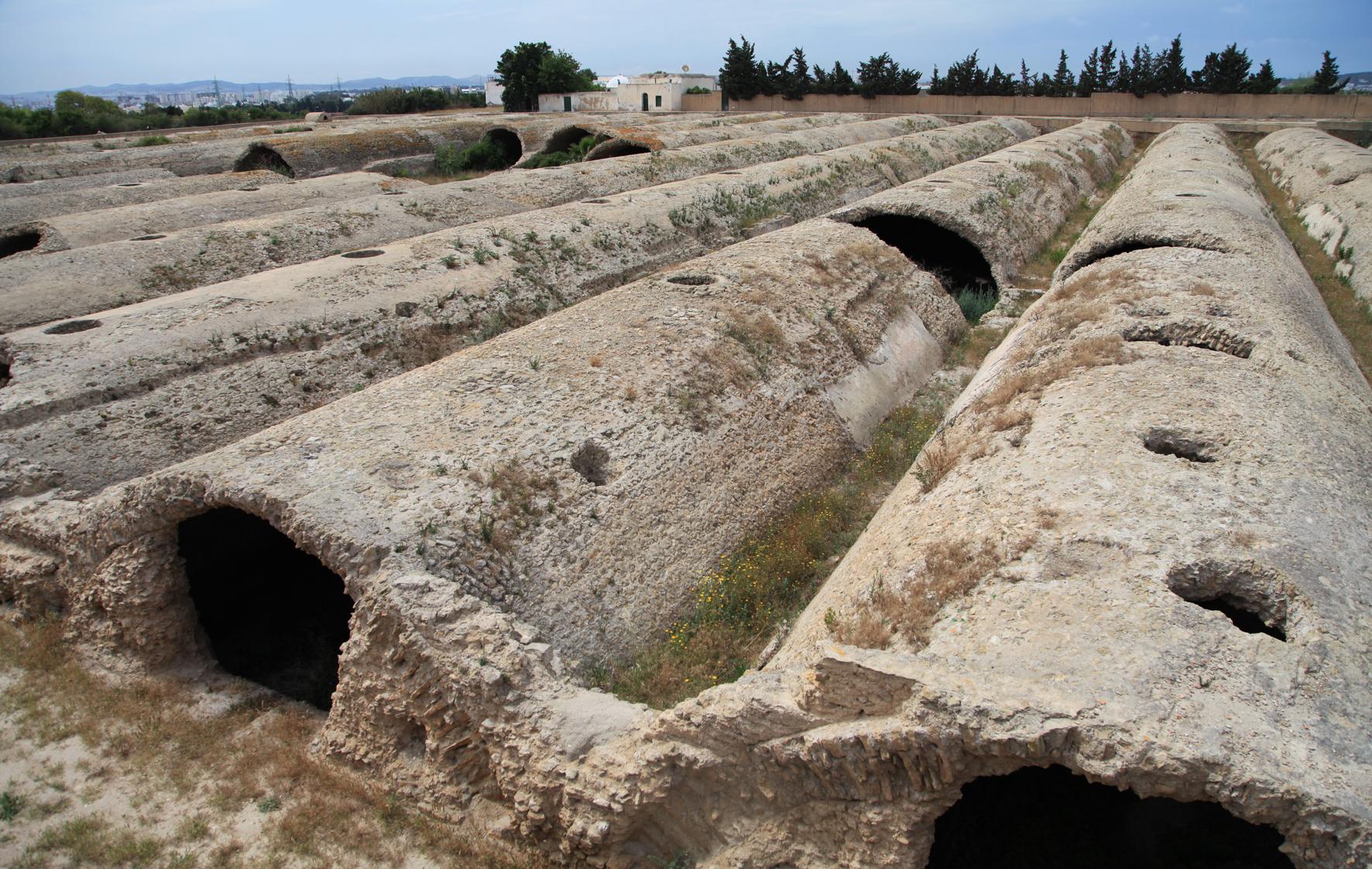 Cisternas Romanas de Cartago