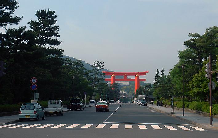 Entrada do Templo Heian 平安神宮
