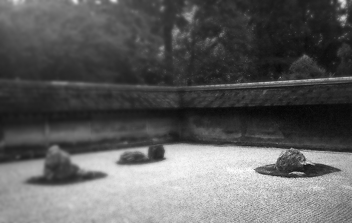 Jardim de Pedras do Ryoan-ji