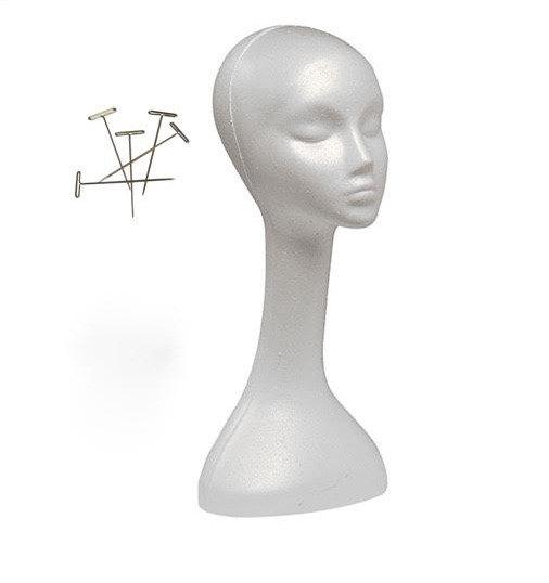 Mannequin Head & T Pins