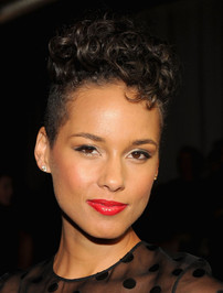 Alicia Keys - Jason Wu Fashion Show