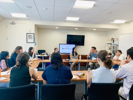 Weekly Lunches: Experiencing the bravery of journalists at ProPublica