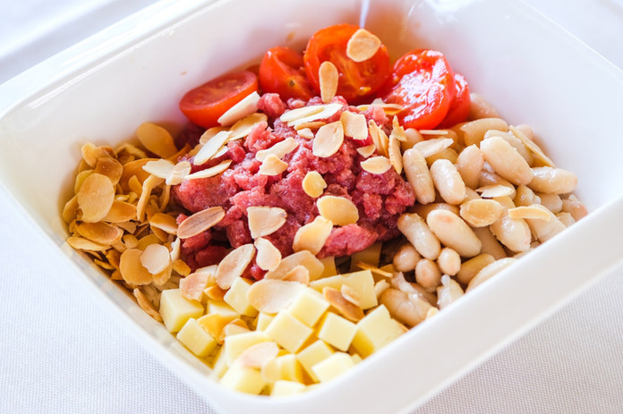 Poké bowl tartare