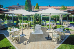 giardino ristorante Nero Balsamico