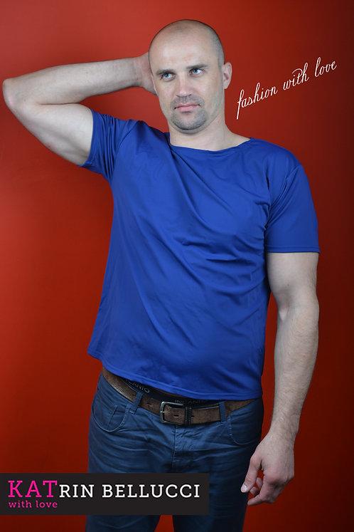 футболка синяя (2500 руб.)