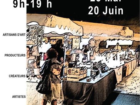 Marché de Créateurs - 20 juin 2021