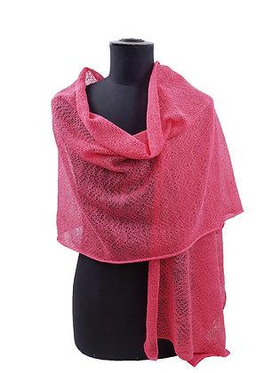 Etole coton/lin rose