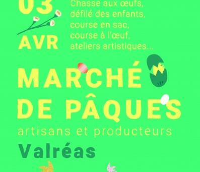 Marché de Pâques - Valréas 2021