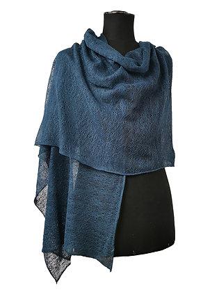 Etole coton/lin bleu jean