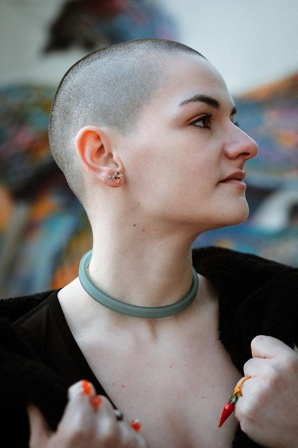Boucles d'oreilles surcyclés photo par
