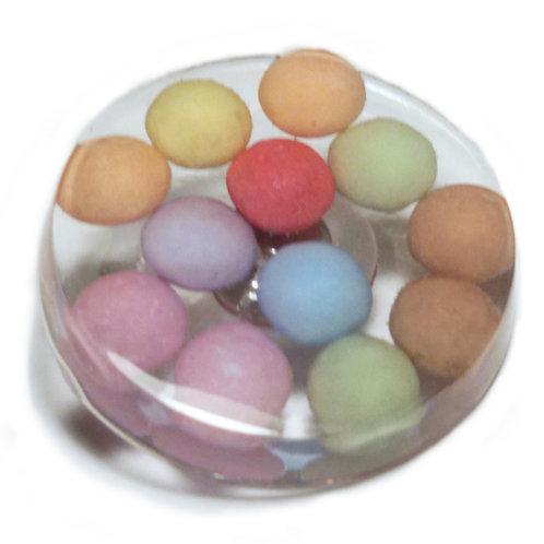 Pins sucré multicolore